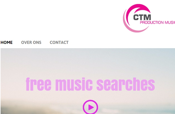 Website voor CTM Production Music